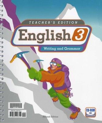 BJU English 3: Writing & Grammar, Teacher's Edition, 2nd Edition   -
