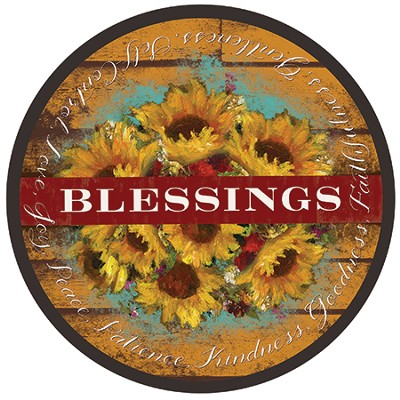 Blessings Lazy Susan Tray  -