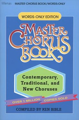 Master Chorus Book (Words-only Edition)   -