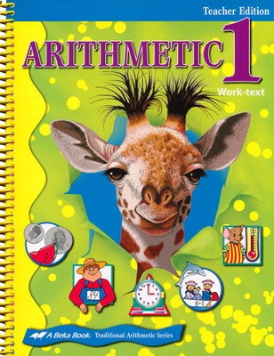 Arithmetic 1 Teacher Edition   -