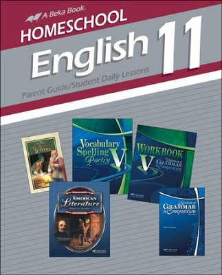Homeschool English 11 Parent Guide/Student Daily Lessons  -
