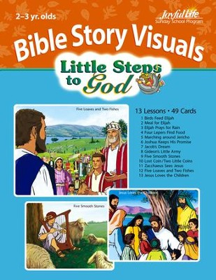 Extra Little Steps to God (Ages 2 & 3) Bible Story Lesson Guide  -