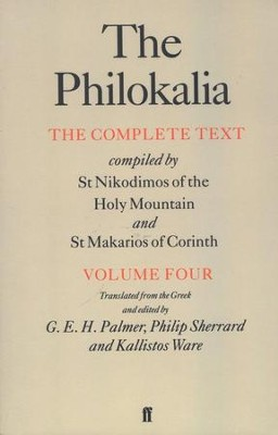 The Philokalia: Volume 4  - Slightly Imperfect  -
