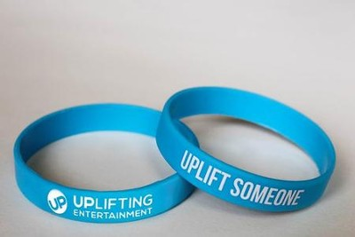 UPLIFT SOMEONE Rubber Wristband   -