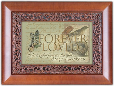 Forever Loved, Always in Our Hearts Music Box  -