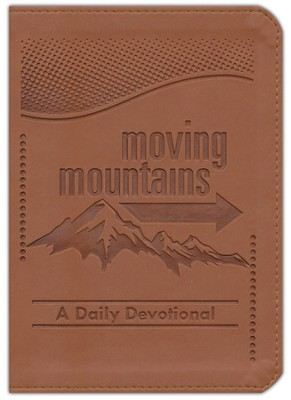 Moving Mountains, Imitation Leather, Brown  -     By: Anthony Lester