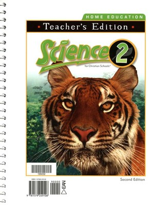 BJU Science 2 Teacher's Edition, Second Edition    -