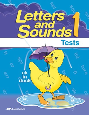 Letters and Sounds 1 Student Test Book   -