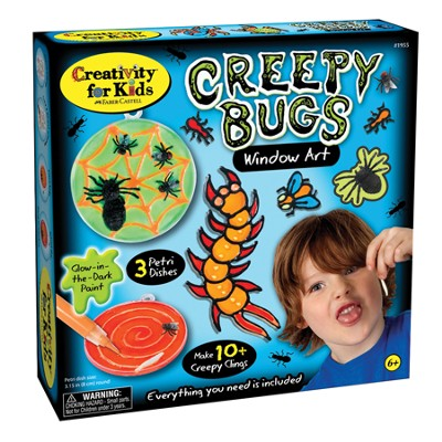 Creepy Bugs Window Art Kit  -