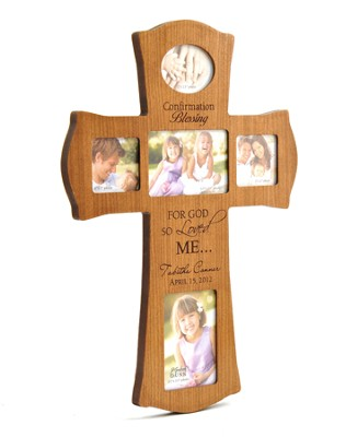 Personalized, Confirmation, Photo Cross, Cherry   -