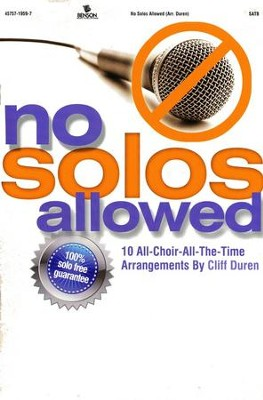 No Solos Allowed   -
