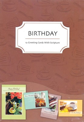 All Things Sweet Birthday Cards, Box of 12  -