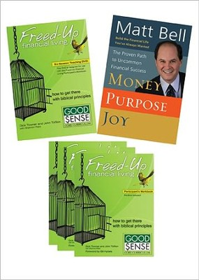 Freed-Up Financial Living Ministry Leader's Kit  -     By: Dick Towner
