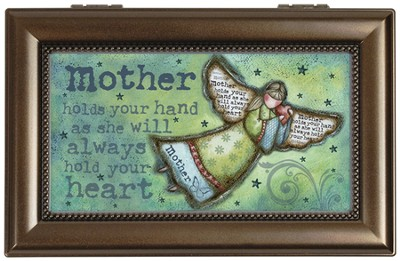 Mother Holds Your Hand Music Box  -     By: Robin Davis