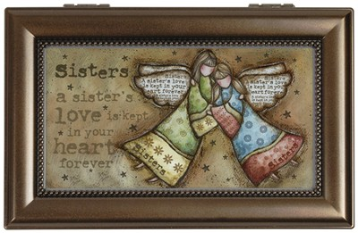 A Sister's Love Music Box  -     By: Robin Davis