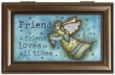 A Friend Loves Music Box  -     By: Robin Davis