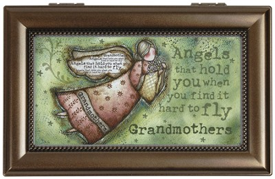 Grandmothers, Angels Music Box  -     By: Robin Davis