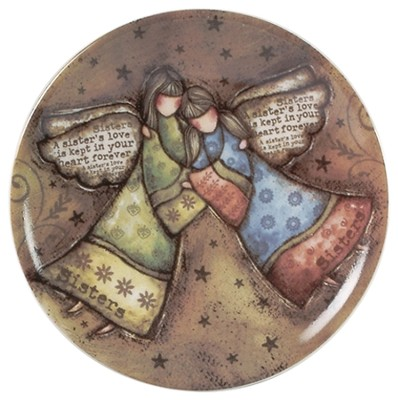 A Sister's Love Mini Plate  -     By: Robin Davis