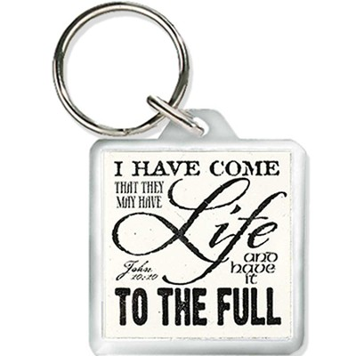 Life To the Full Keyring  -