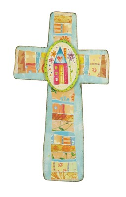 Words of Praise Wall Cross  -     By: Lori Siebert