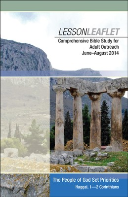 Bible-in-Life & Echoes Adult Comprehensive Bible Study Leaflet, Summer 2014  -