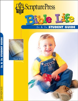 Scripture Press 2s & 3s Bible Life Student Book, Summer 2014  -