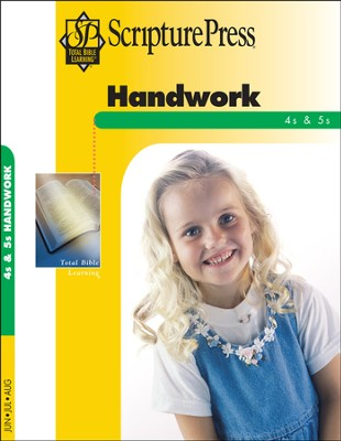 Scripture Press 4s & 5s Handwork (Craftbook), Summer 2014  -