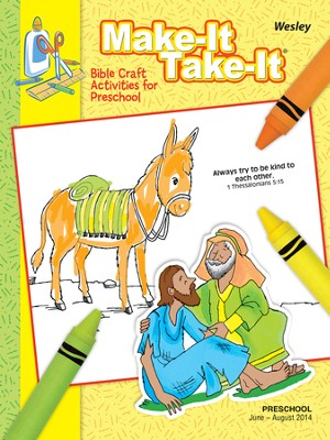 Wesley Preschool Make It/Take It (Craft Book), Summer 2014  -