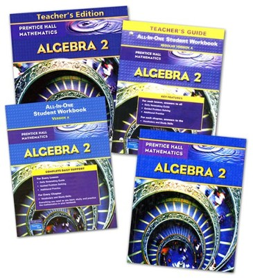 Prentice Hall High School Math Algebra 2 Homeschool Bundle  -