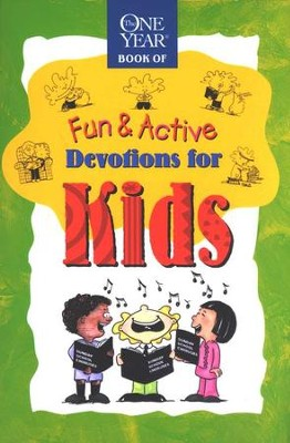 The One Year Book of Fun and Active Devotions for Kids  -