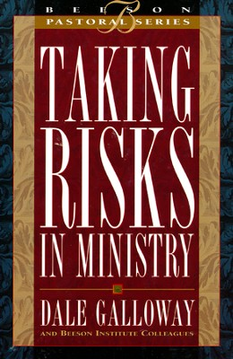 Taking Risks in Ministry - Slightly Imperfect  -