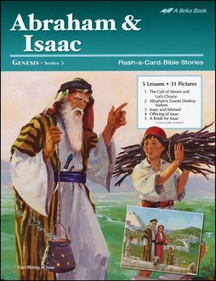 Abraham and Isaac Flash-a-Card Set   -
