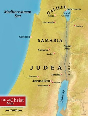 Life of Christ Map   -