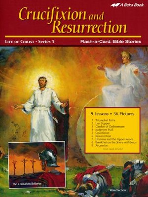 Crucifixion and Resurrection Flash-a-Card Set   -
