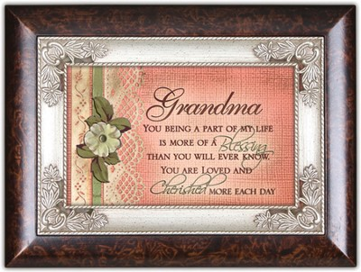 Grandma, More of a Blessing Music Box  -
