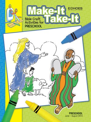 Echoes Preschool Make It Take It (Craft Book), Summer 2014  -
