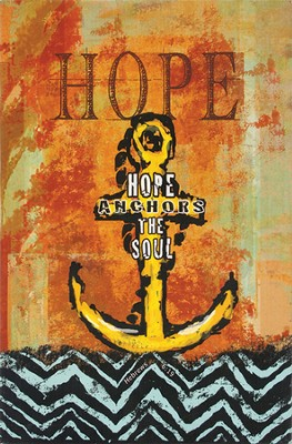 Hope Anchors the Soul Wall Art  -