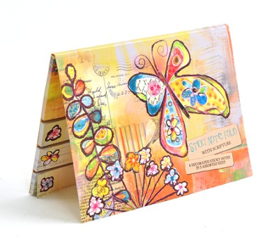 Rejoice in Hope Sticky Note Folio  -     By: Lori Siebert