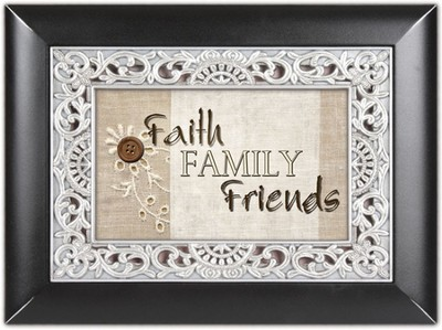 Faith, Family Friends, Photo Frame Album  -