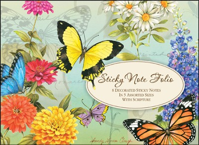 Wondrous Works of God, Sticky Note Folio  -     By: Sandy Clough