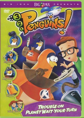 Trouble On Planet Wait-Your-Turn: 3-2-1 Penguins! #1,  DVD  -
