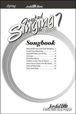 Joyful Singing for Teens #7 Songs   -