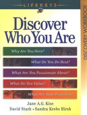 LifeKeys Discovery Workbook, revised edition  -     By: Jane A.G. Kise, David Stark, Sandra Krebs Hirsch