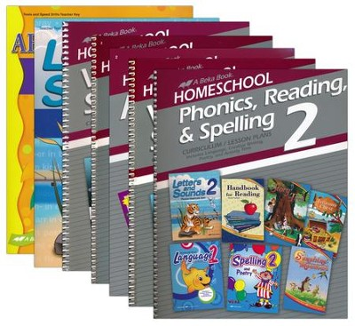 Grade 2 Homeschool Parent Full-Grade Kit  -