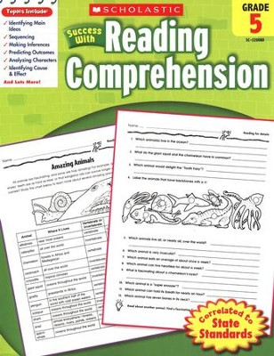 Scholastic Success with Reading Comprehension, Grade 5  -