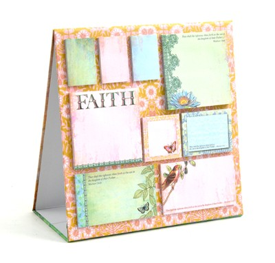 Flights of Faith Sticky Note Easel  -     By: Jennifer Parker
