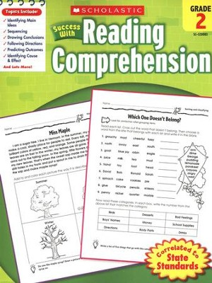 Scholastic Success with Reading Comprehension, Grade 2  -