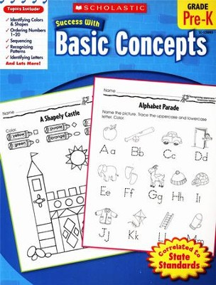 Scholastic Success with Basic Concepts  -