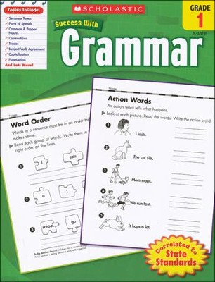 Scholastic Success With Grammar, Grade 1  -