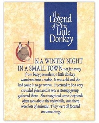 Donkey Legend Christmas Cards   -
